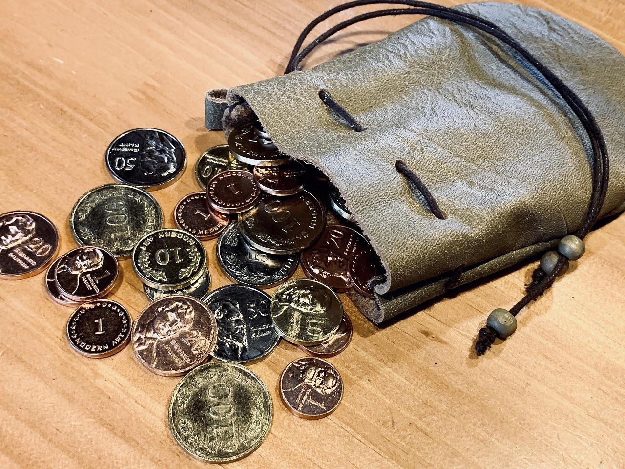 革袋「カラビナで提げられるヤツ」※スポット製作
