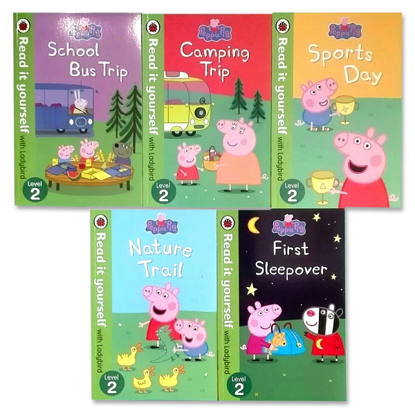 Peppa Pig(ペッパピッグ) レディーバード5冊セット レベル2