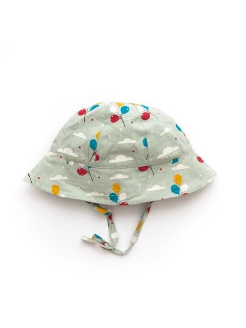 オーガニックコットン リバーシブル帽子 ベビー服 【Little Green Radiclas】