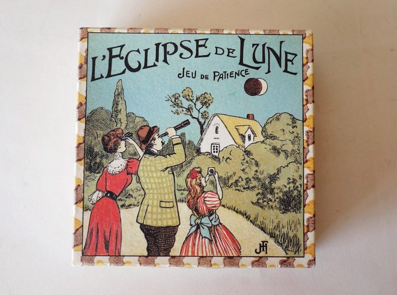 L'ECLIPSE DE LUNE/JUE DE PATIENCE 月食ゲーム フランス/ドイツ