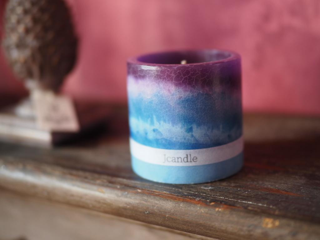 gradation lantern candle 1