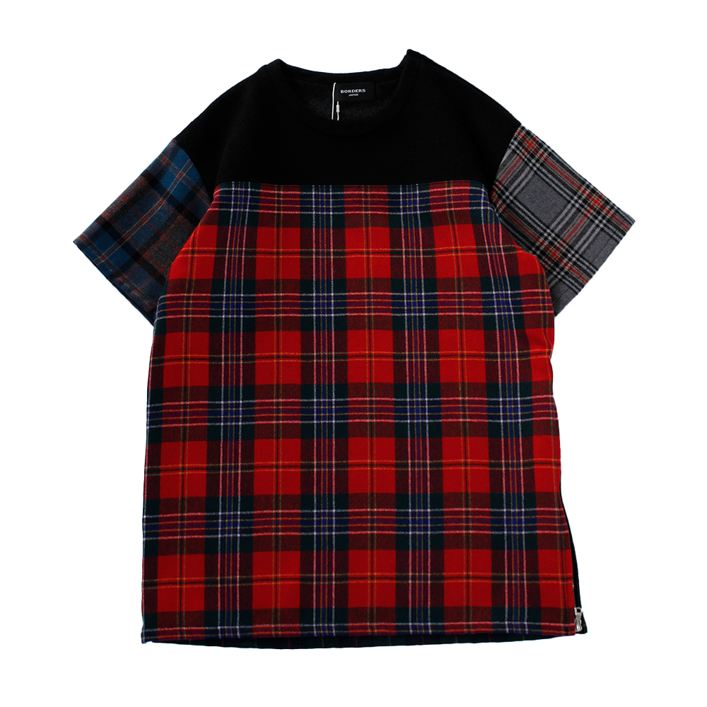 BORDERS JAPAN Crazy Check Tee