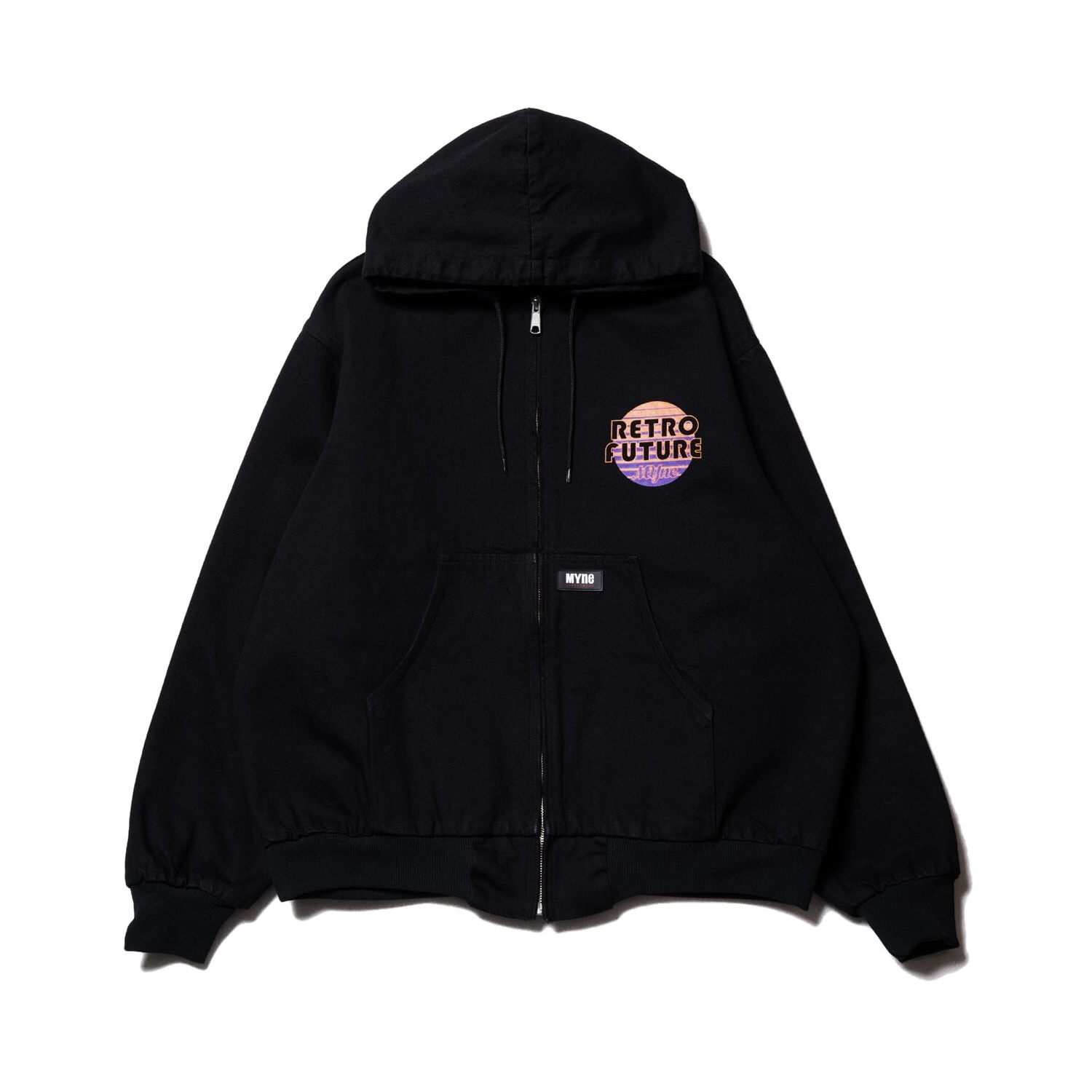 RETRO FUTURE denim parka / BLACK - 画像1