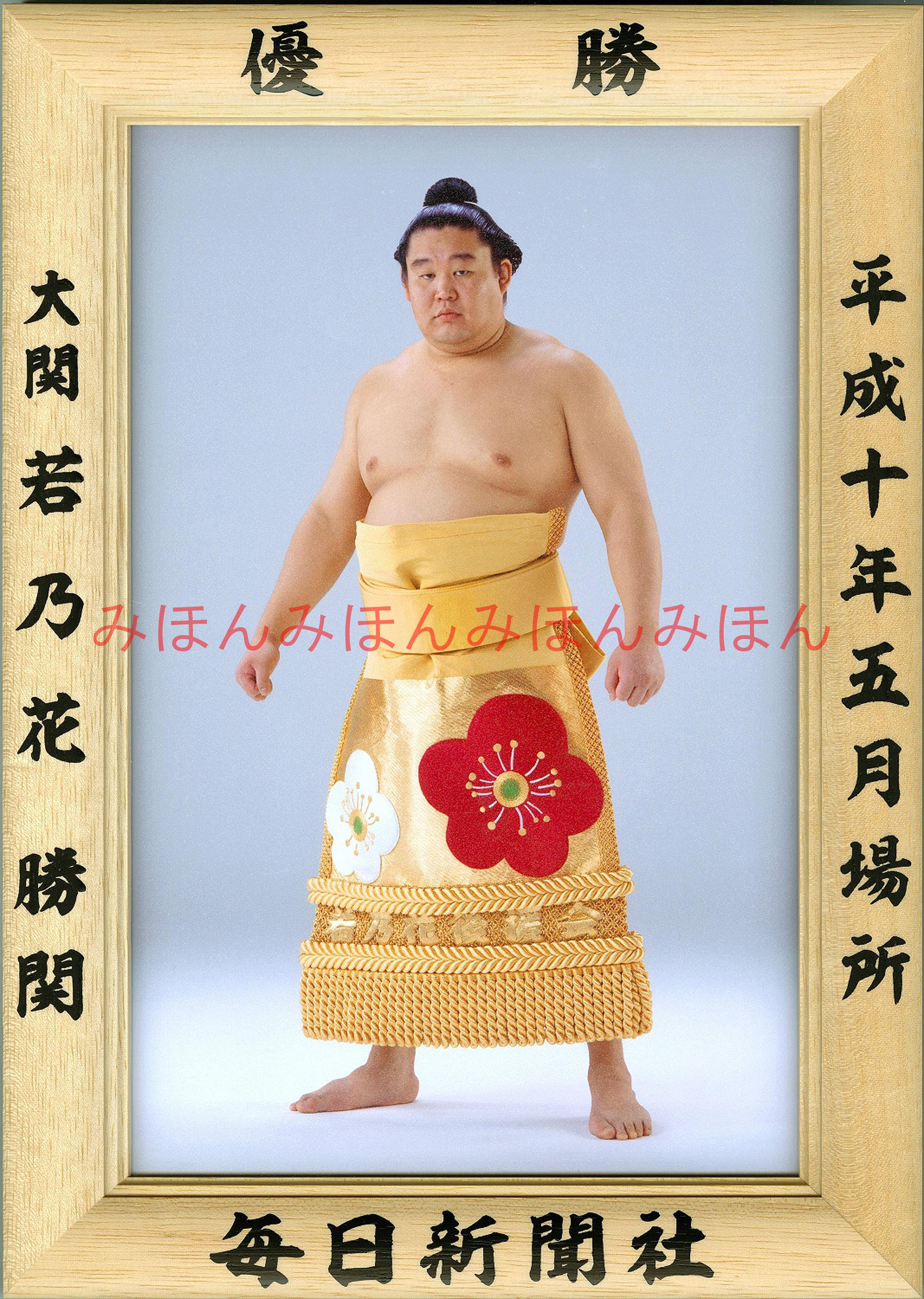 平成10年5月場所優勝 大関 若乃花勝関(5回目の優勝)