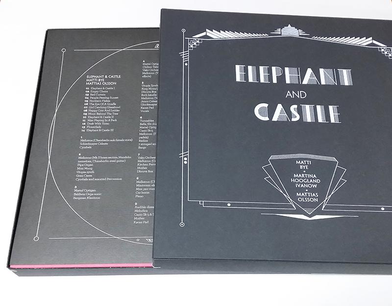 Matti Bye, Mattias Olsson & Martina Hoogland Ivanow「Elephant & Castle」(Kning Disk)[LP]