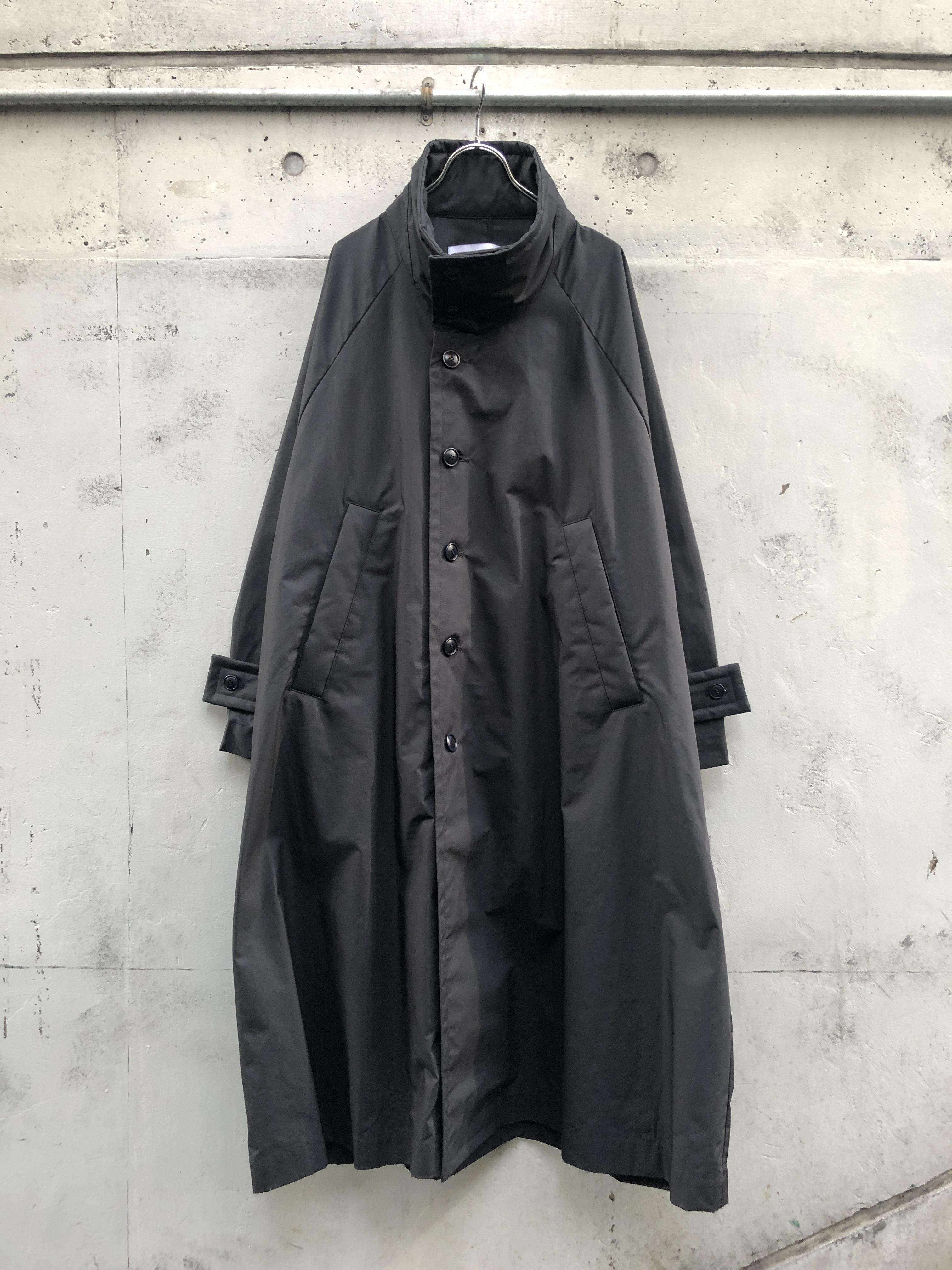 『VOAAOV』oxfold long coat / BLACK