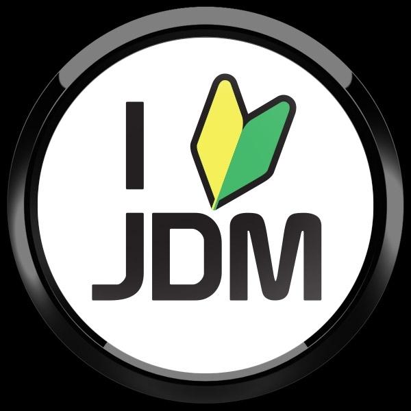 ゴーバッジ(ドーム)(CD1113 - CLUB - I LOVE JDM) - 画像3