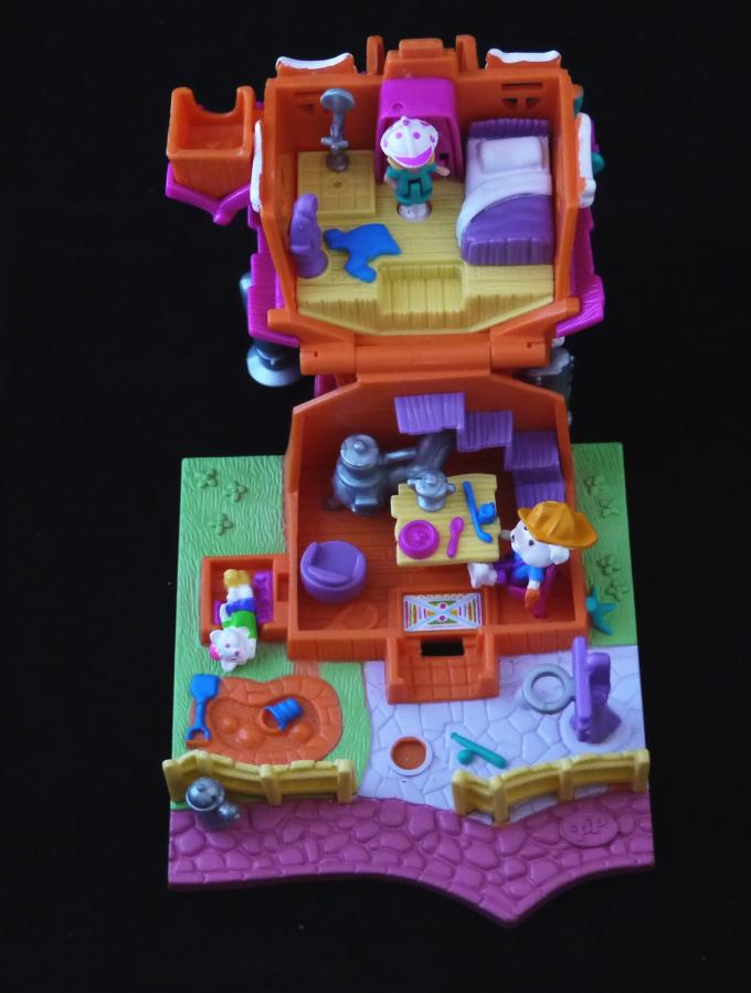 ポーリーポケット ドッグハウス 1994年 完品