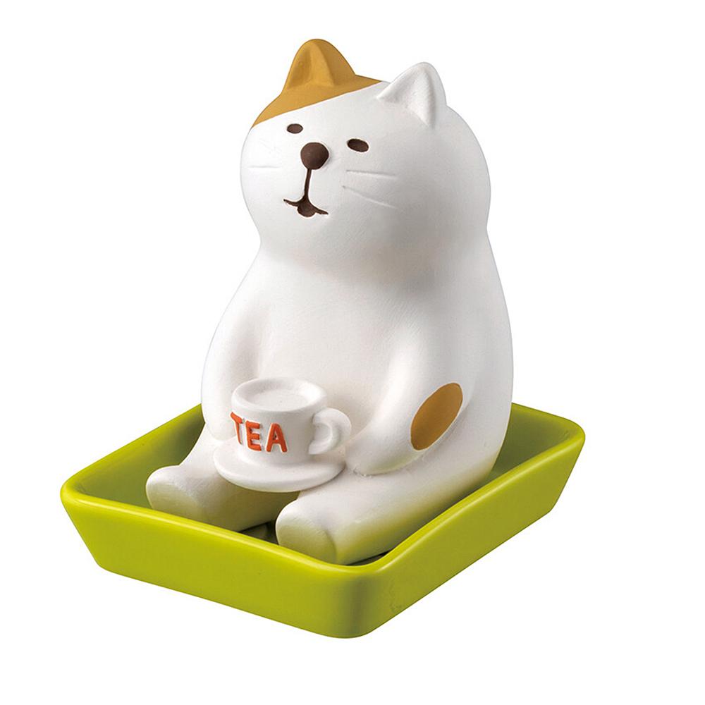 猫加湿アロマ器(しっとり壺リラックス猫)