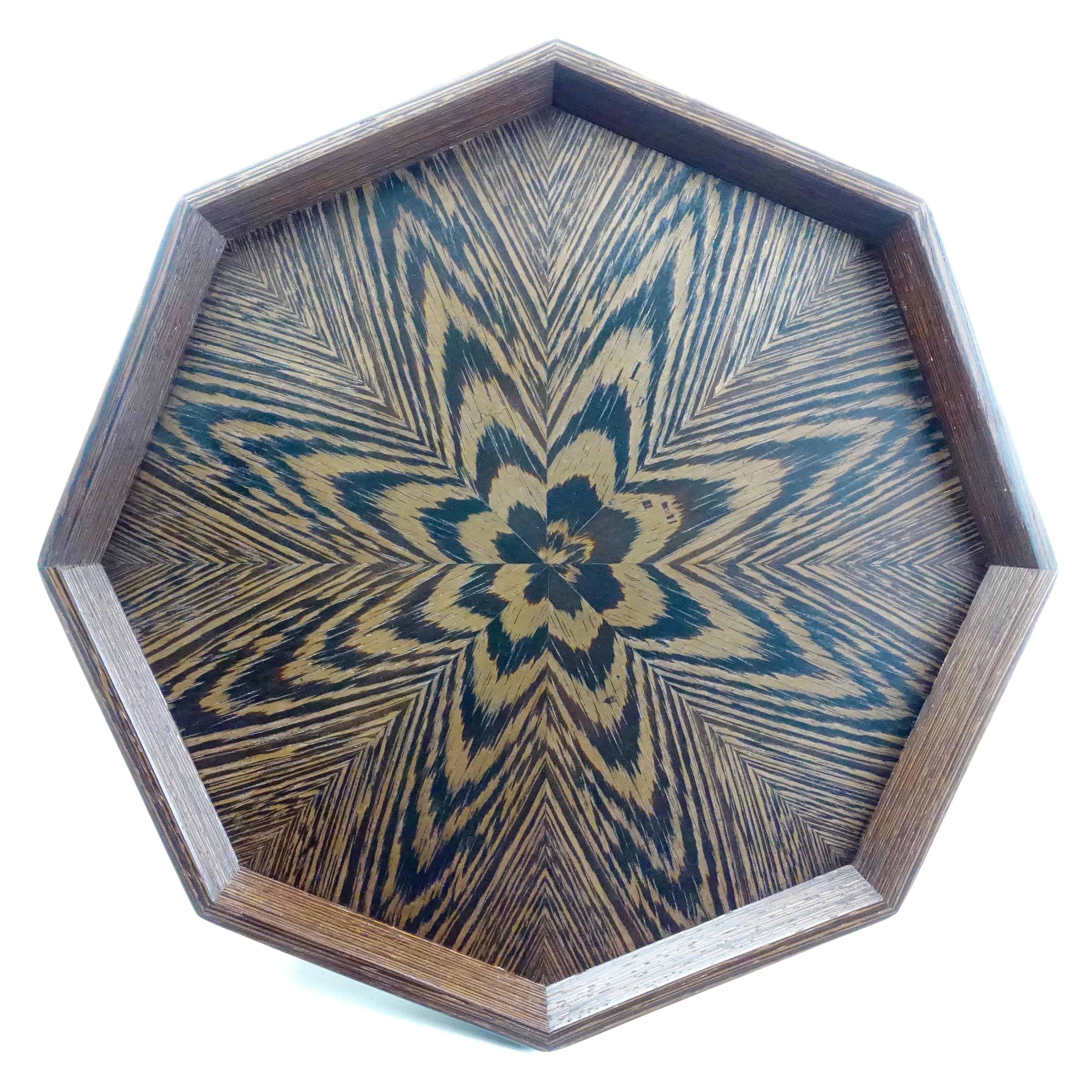 ウェンジ 八角形のトレー OBWD-0153