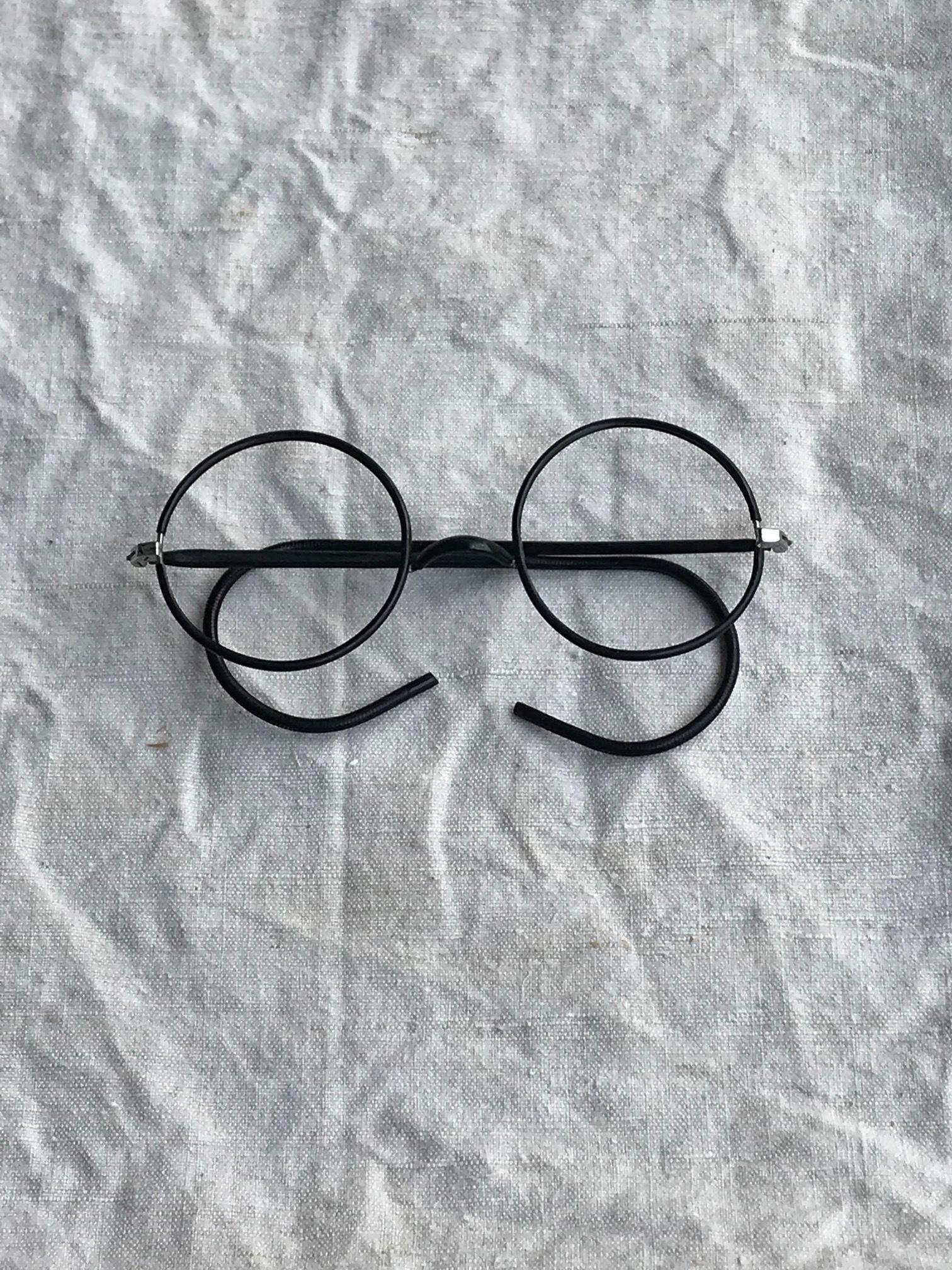 古い眼鏡フレーム スチール 古道具 D