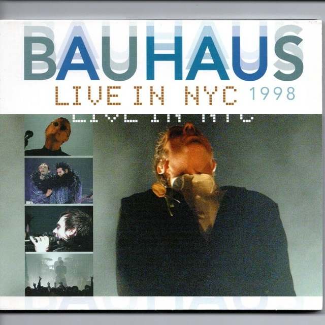 【CD・欧州盤】Bauhaus / Live in NYC 1998