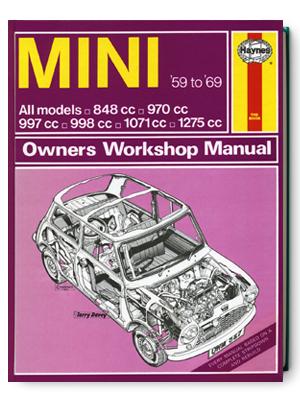 ミニ・1959-1969・オーナーズ・ワークショップ・マニュアル