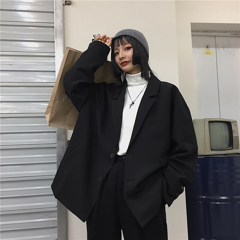 【送料無料】メンズライク ♡ オーバーサイズ ライトアウター テーラード ジャケット