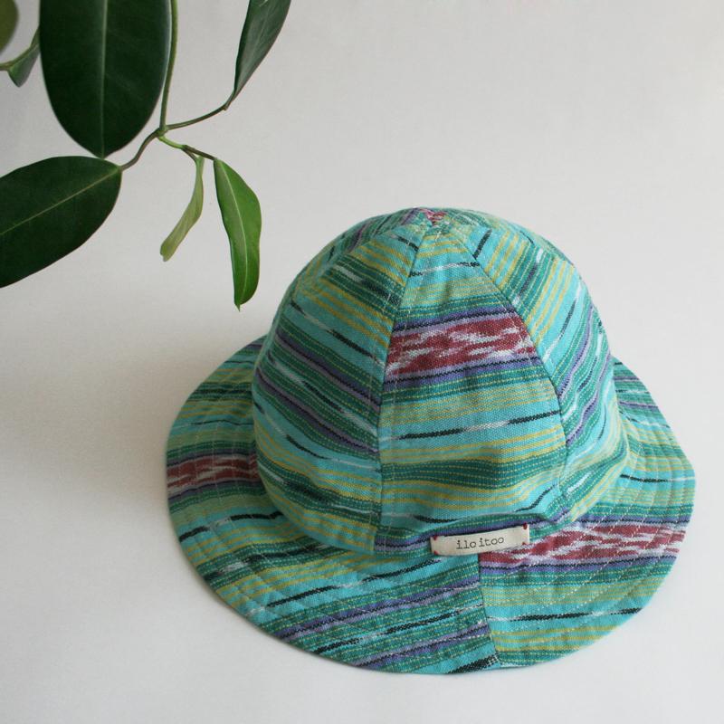 6枚はぎの帽子/124/ilo itoo/GUATEMALA グアテマラ