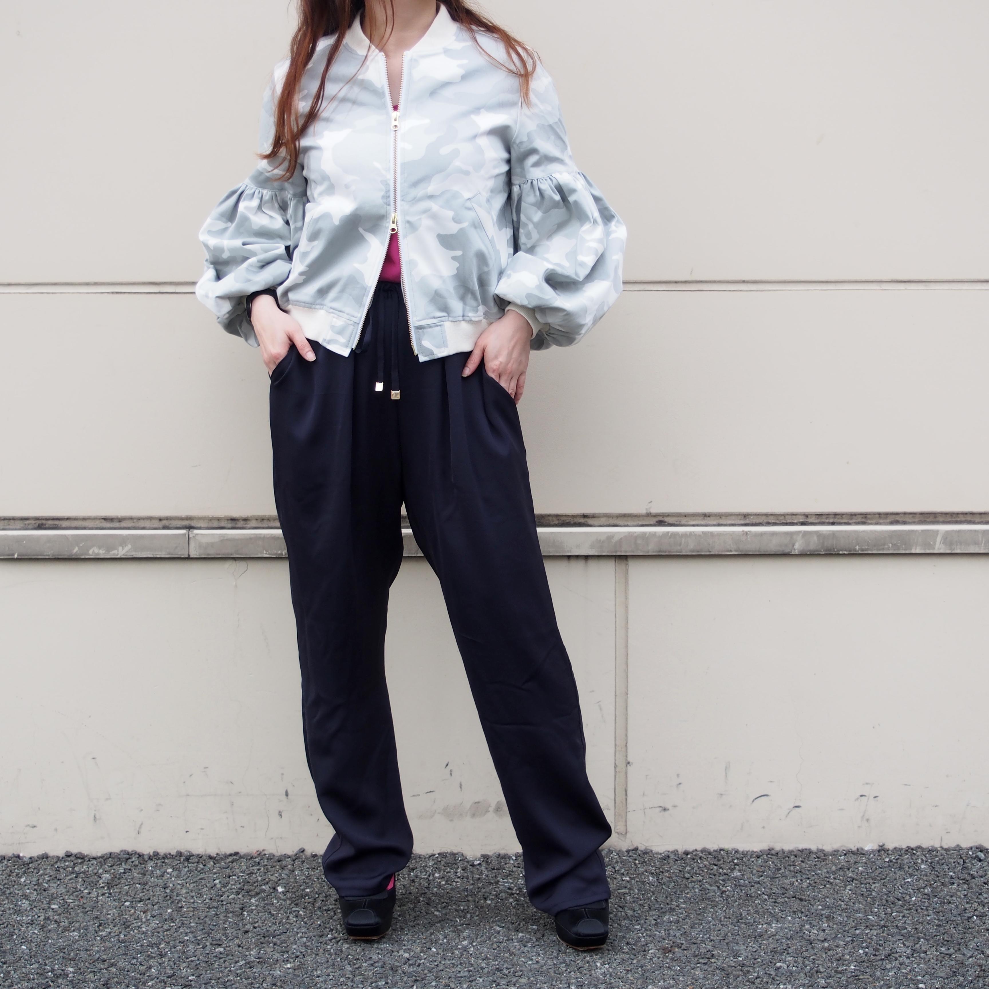 【ethical hippi】tapered pants(dark navy) / 【エシカル ヒッピ】テーパード パンツ(ダーク ネービー)