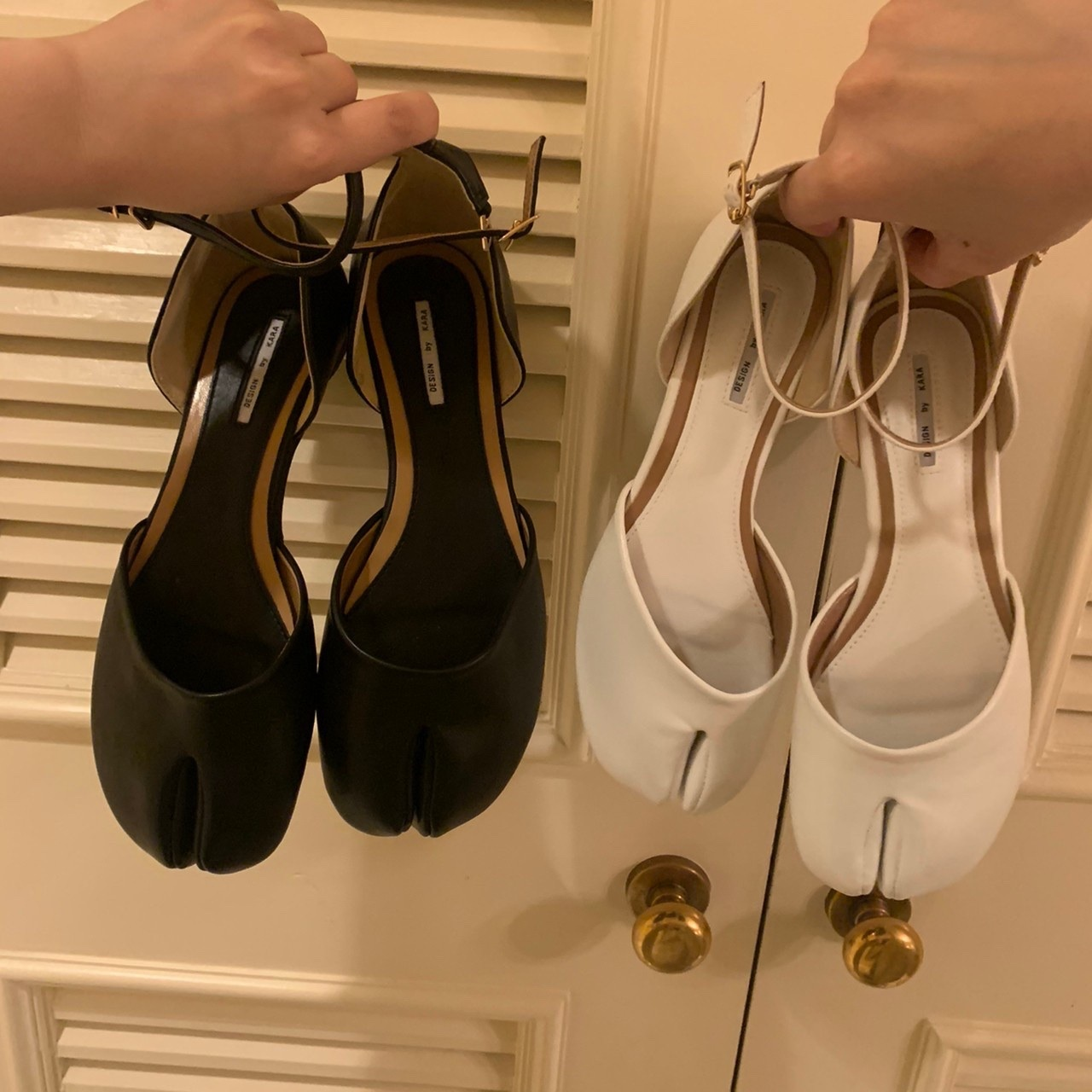 tabi flat shoes