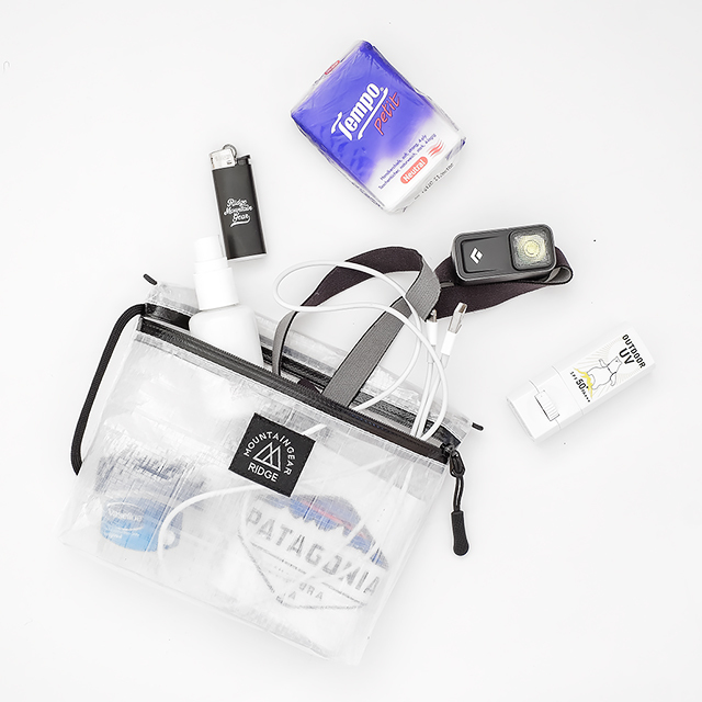 Travel Pouch Plus Translucent