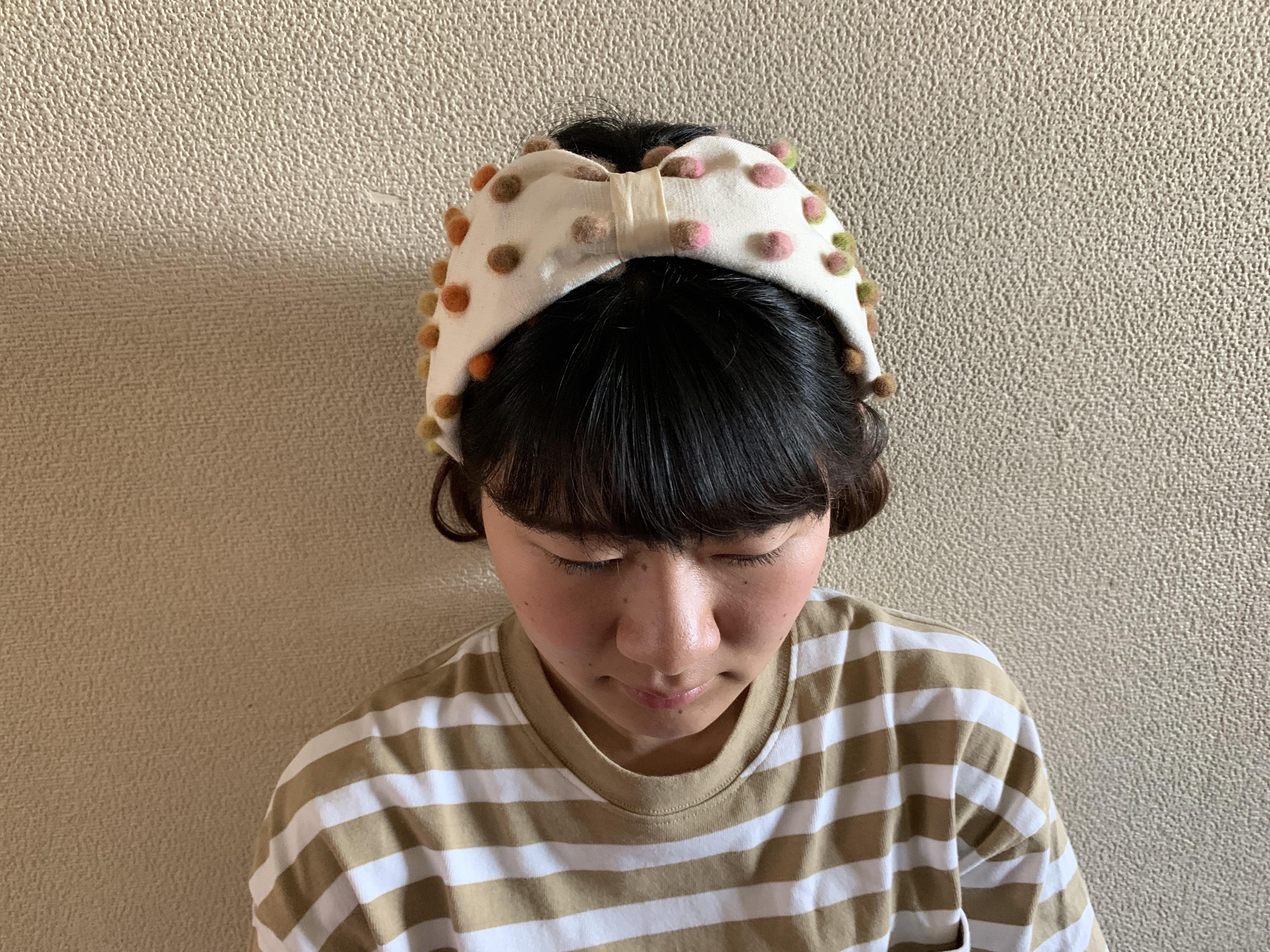 手づくりキット / ヘアバンド - dark - NORO EISAKU