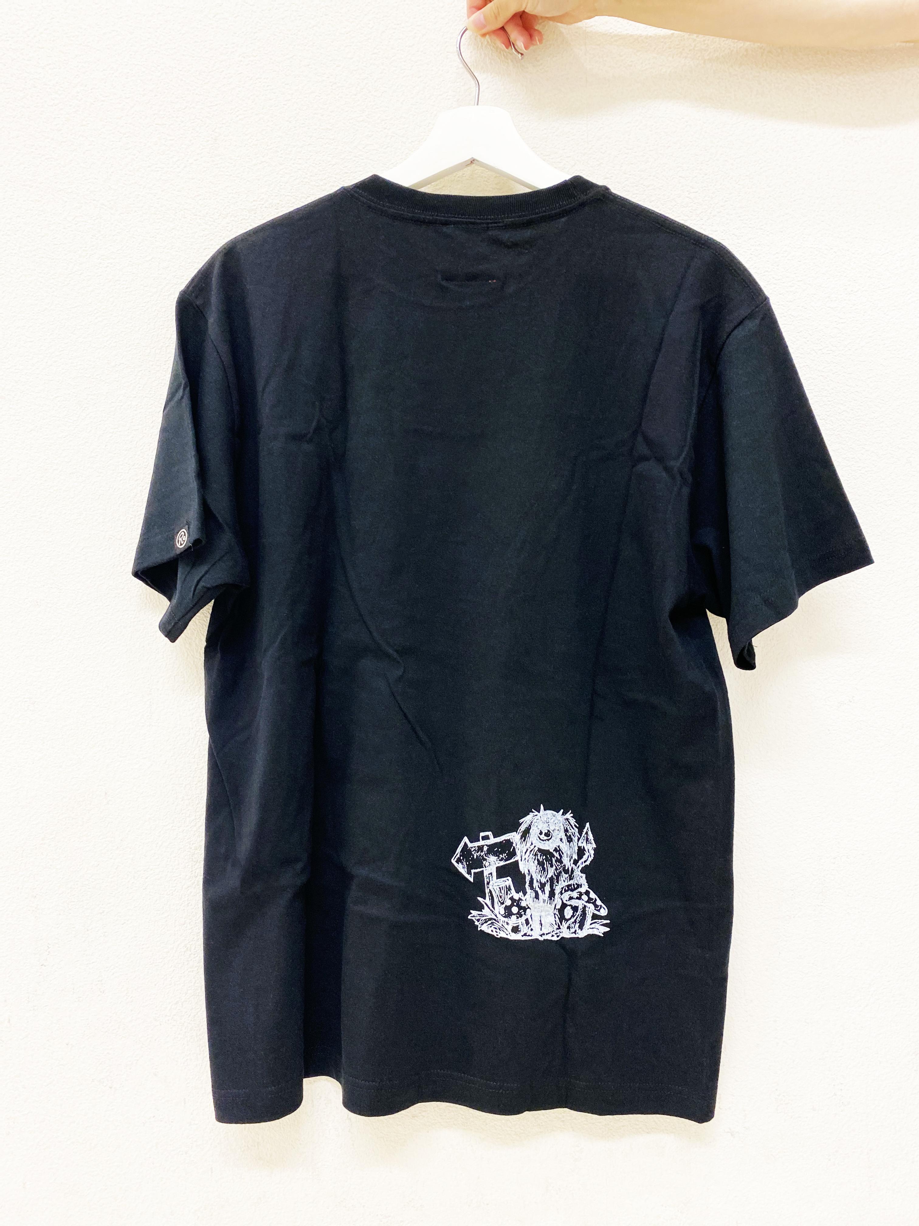 """〈ドロヘドロ〉煙""""THE BOSS"""" Tシャツ(BLACK)"""