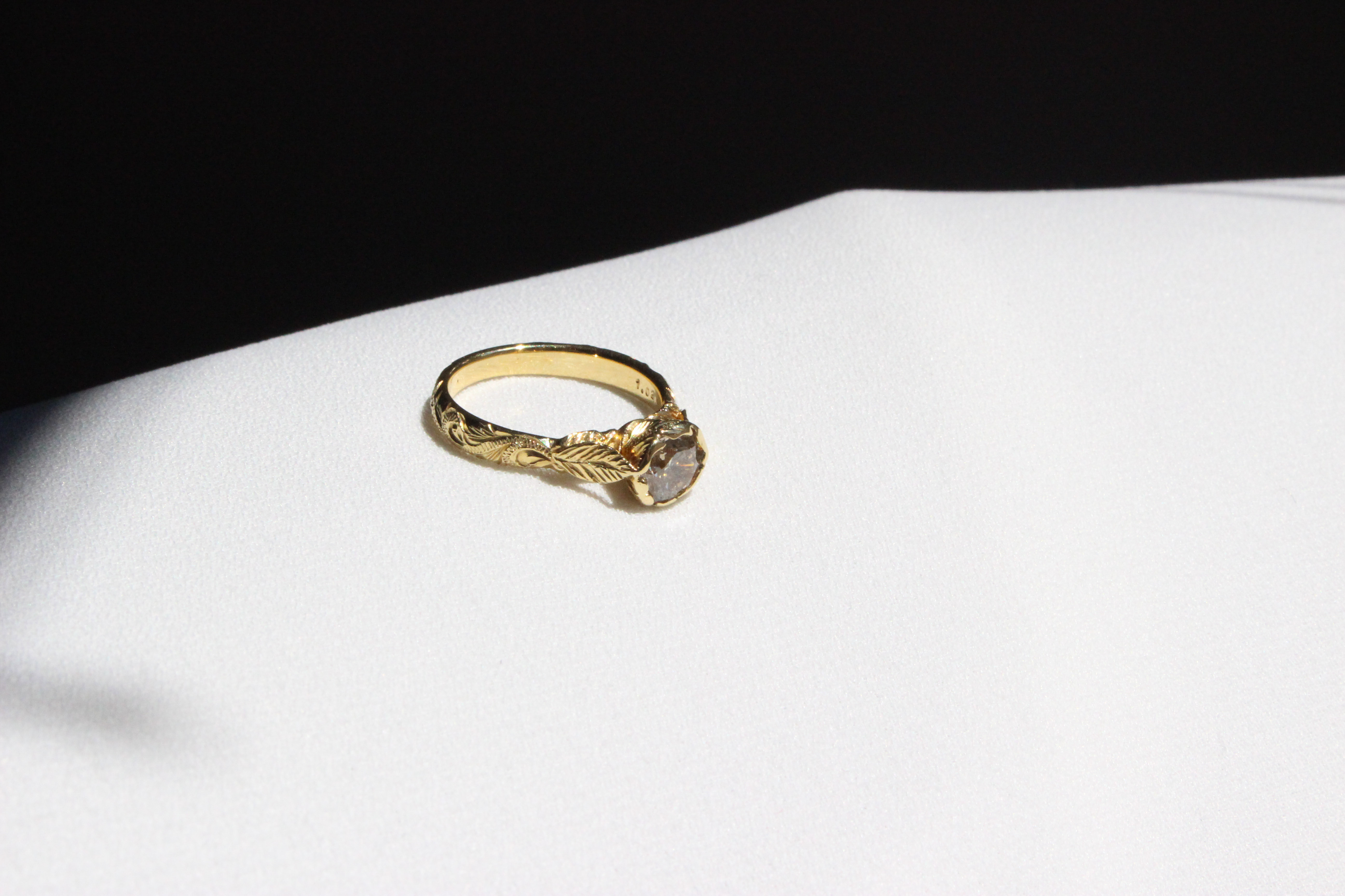 KAMUELA ROSE BROWN DIAMOND RING