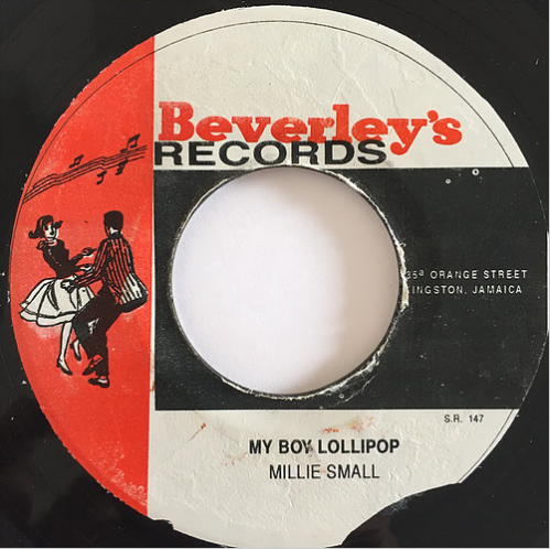 Millie Small(ミリースモール) - My Boy Lollipop【7'】