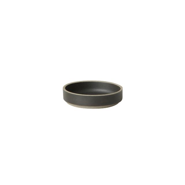 HASAMI PORCELAIN / HPB001 / Plate 85mm / Black