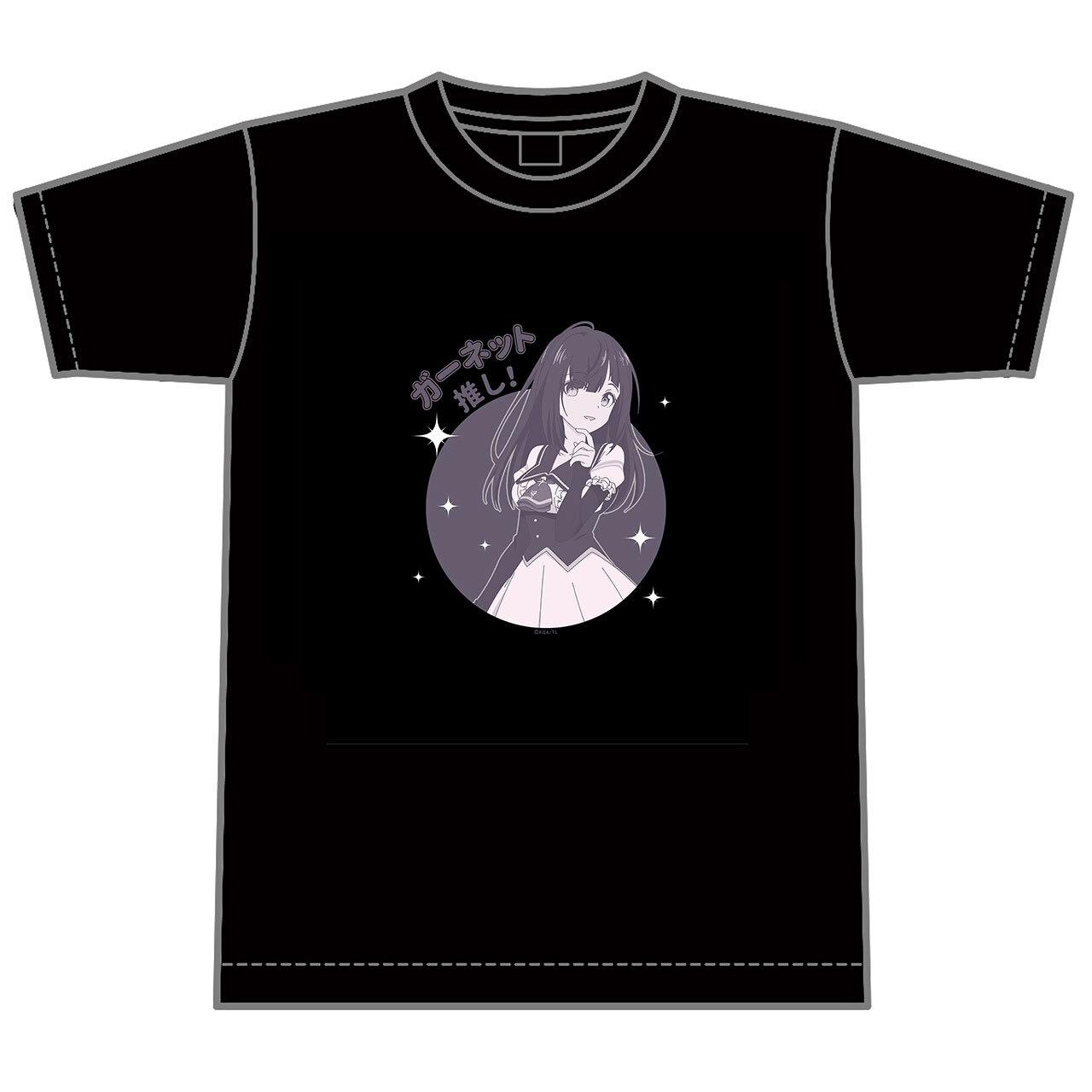 【4589839354943予】ラピスリライツ ガーネット 推しTシャツ/Mサイズ
