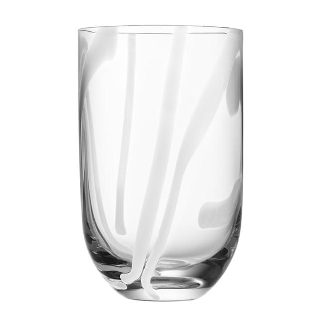 Kostaboda コスタボダ CONTRAST グラスタンブラー ホワイト (7091617)