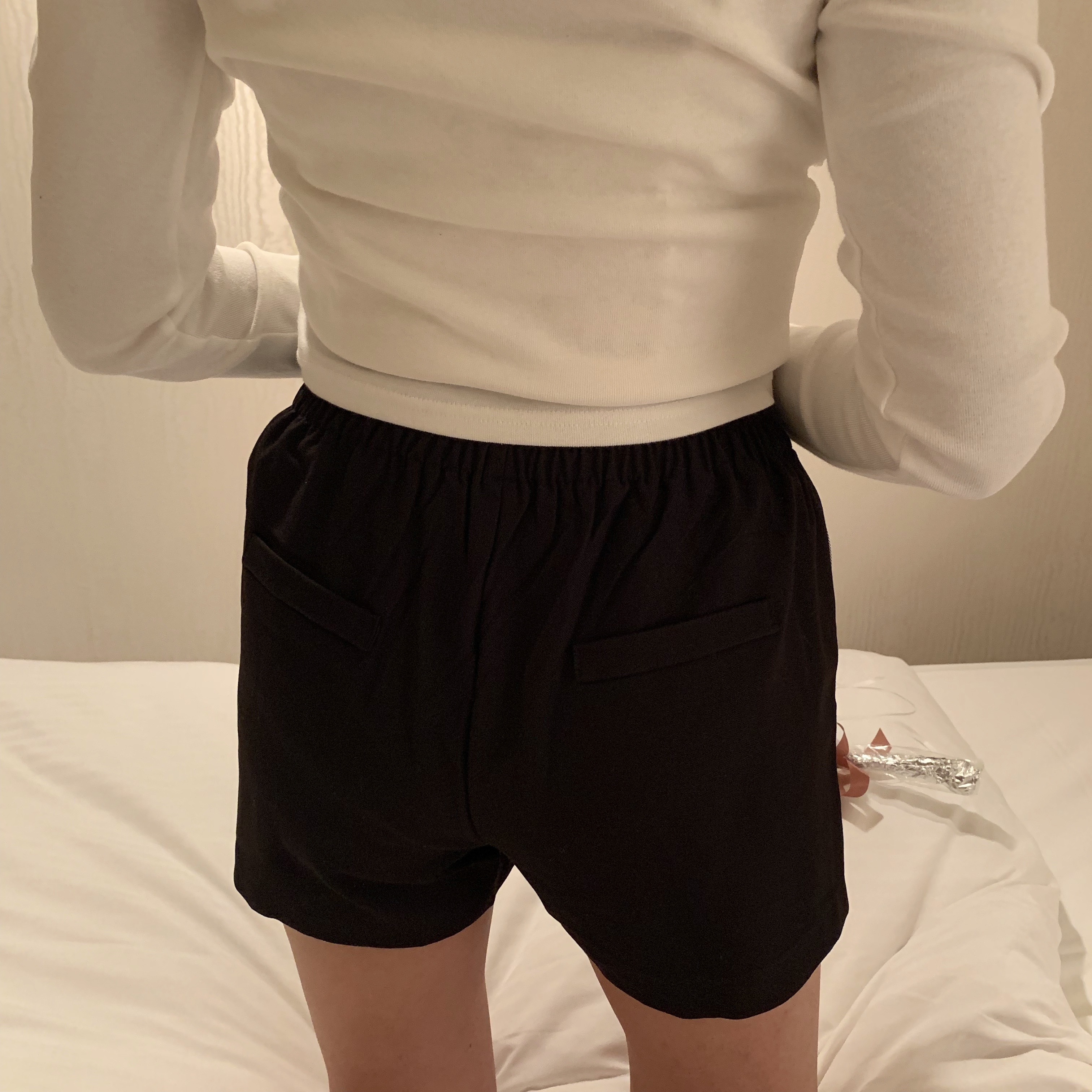 classical button pants
