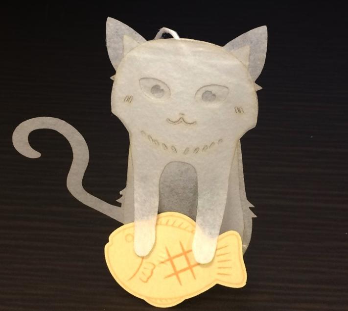 パン職人猫のティーバッグ アールグレイクラシック 4p入