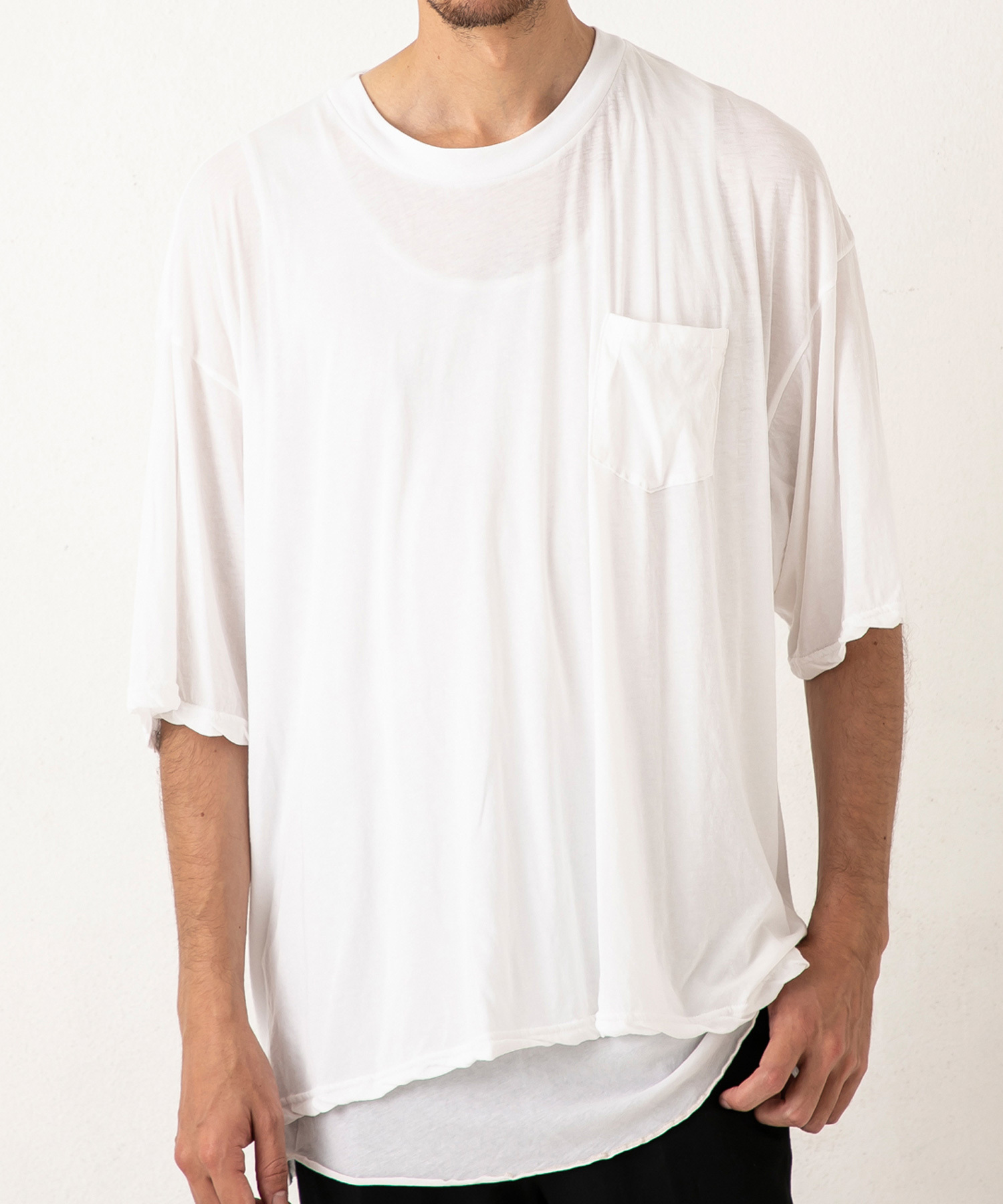 50%OFF【P.E.O.T.W AG】PKT 5 SLEEVE TEE / OFF