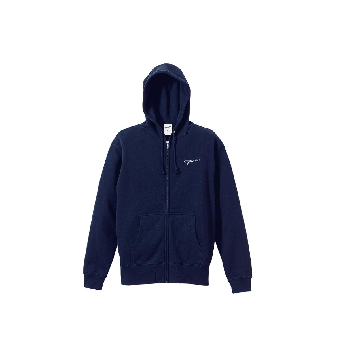 1991 zip hoodie(NAVY)