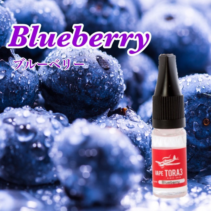 Blueberry (ブルーベリー風味) 電子タバコ リキッド 10ml VAPETORA3