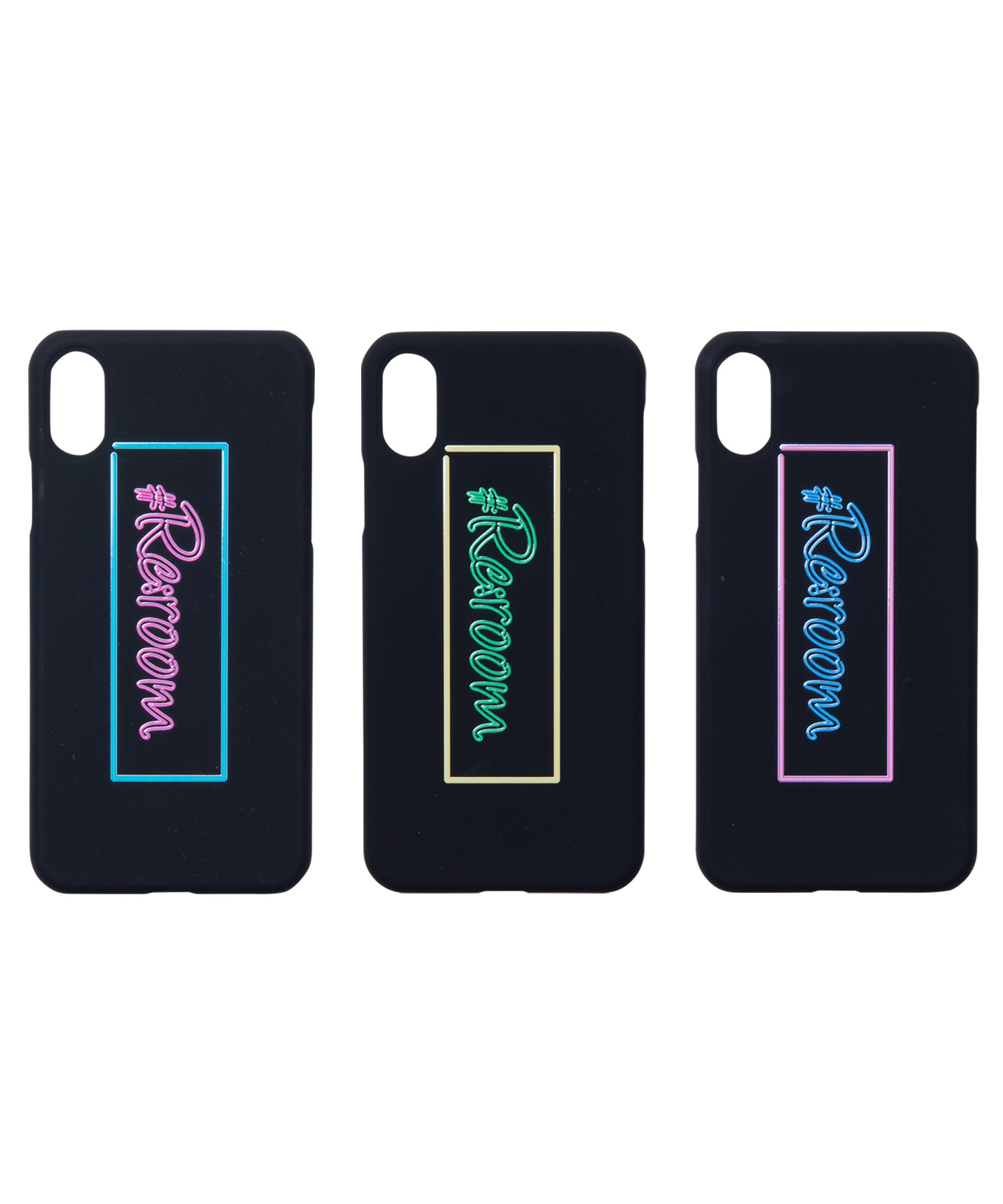 #Re:room NEON BOX LOGO iPhoneX CASE[REG074]
