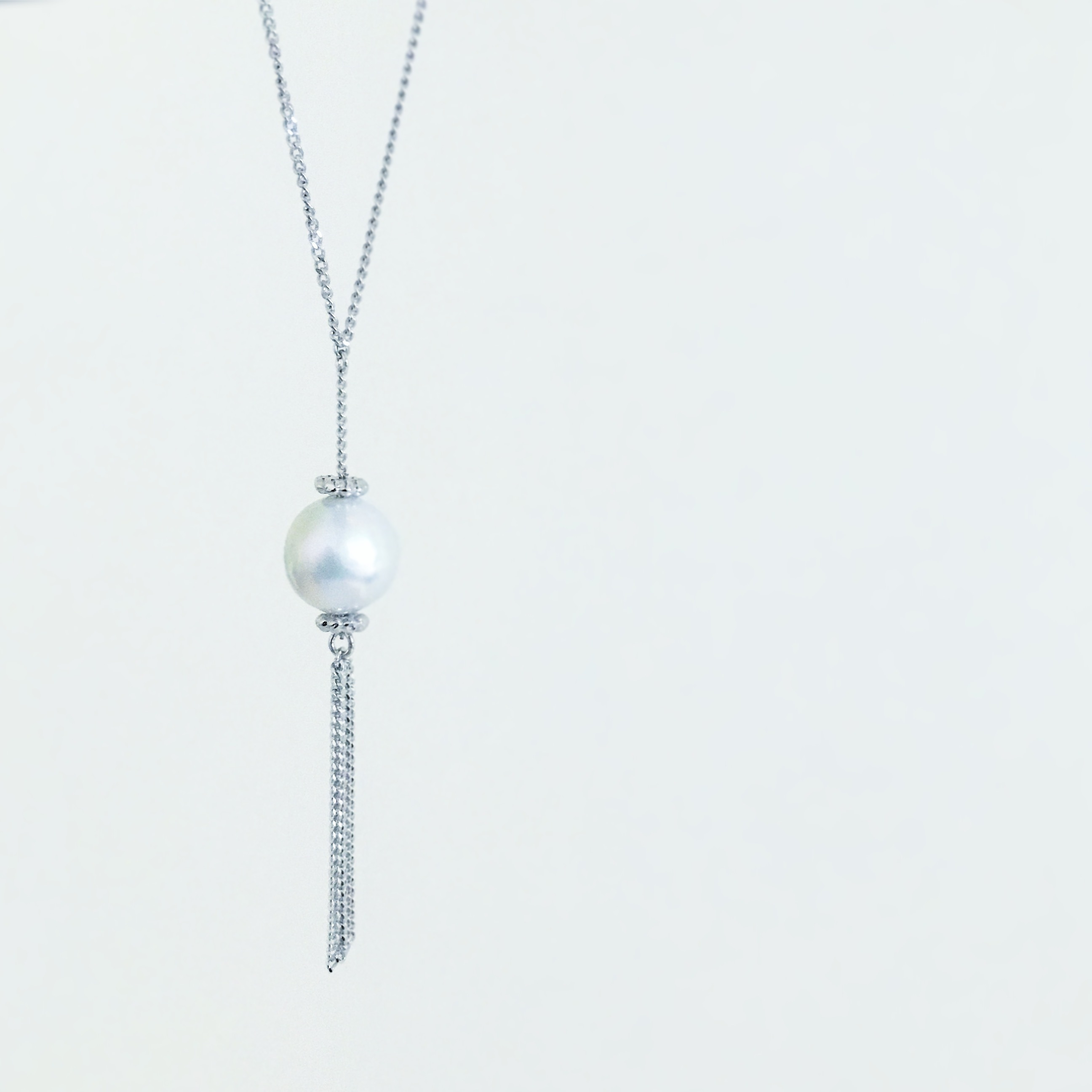Fringe Pearl Necklace