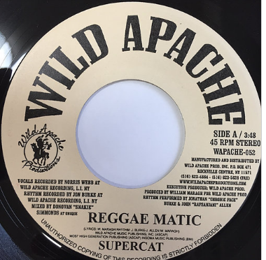 Super Cat(スーパーキャット) - Reggae Matic【7'】