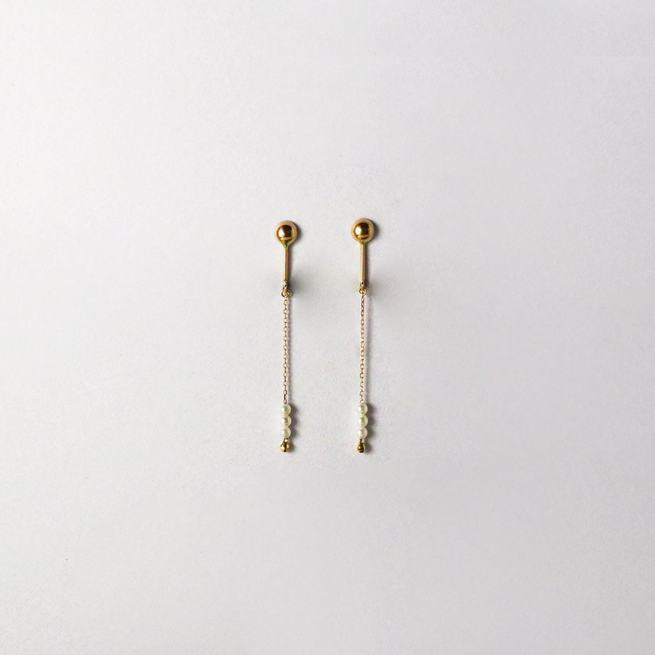 SUZURAN / Baby Pearl Clip-on Earrings (Short)