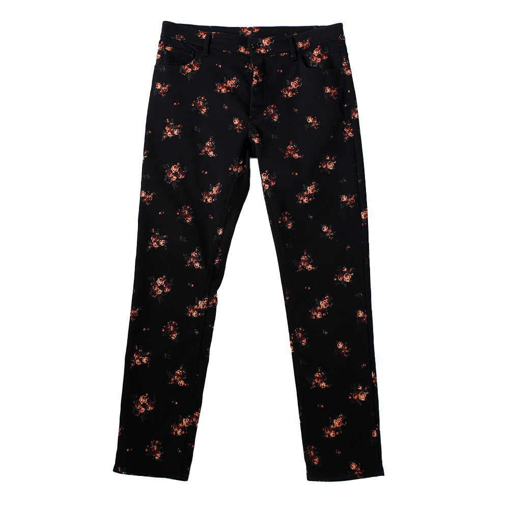ANN DEMULEMEESTER Flower Trousers