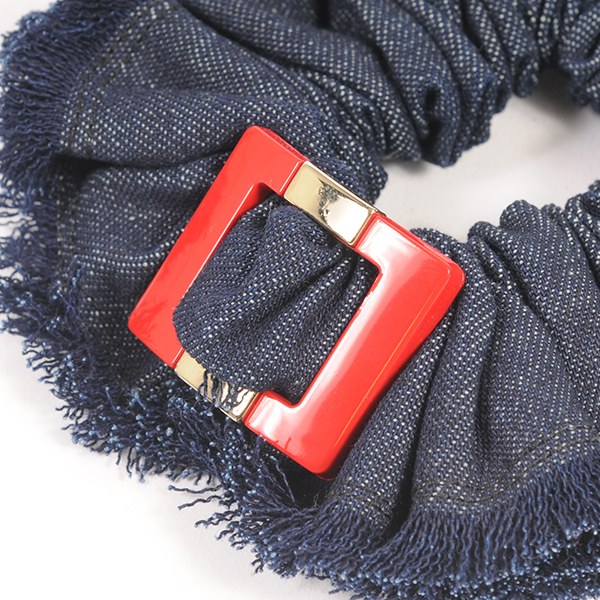 Joe19SM-21 denim buckle shushu (red)
