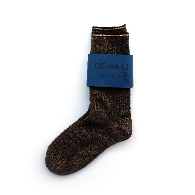 DE-NA-LI × fridge Cashmer Suave Socks / Camel