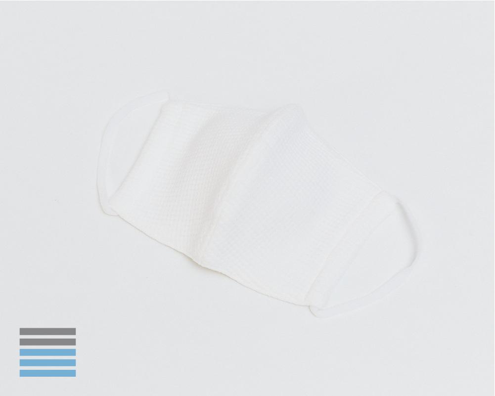 スタンダードマスク|ワッフル オフホワイト【S】【ウーリー】