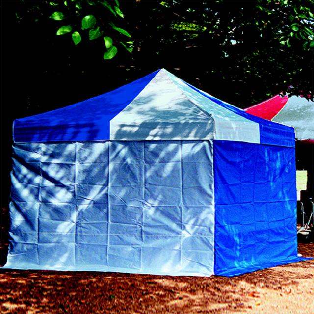かんたんテント3オプション 横幕一方幕 2.4m