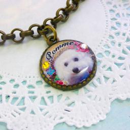 オーダーメイドのうちの子ブレスレット 1個付け オーダーメイドのペットグッズのお店 Lily Craft