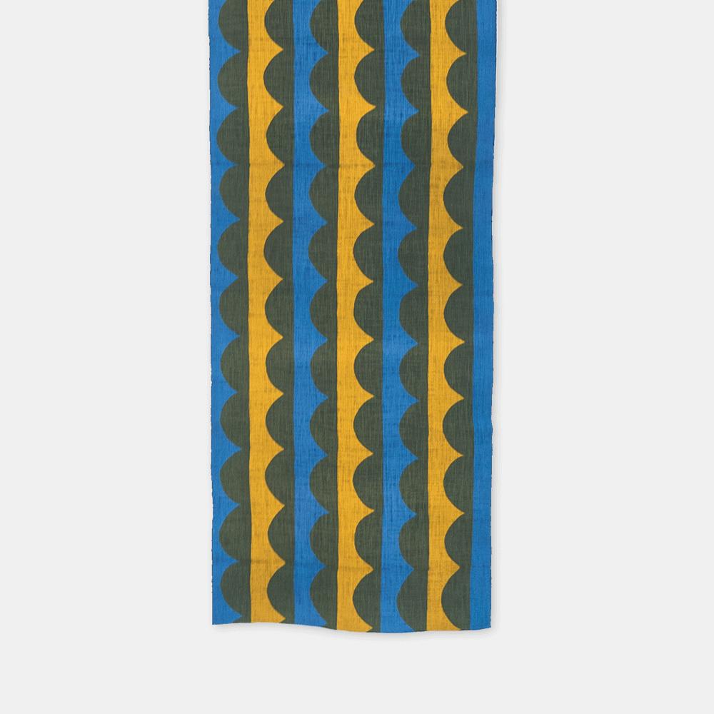 柚木沙弥郎 小巾布 かまぼこ シルクスクリーン(手捺染)