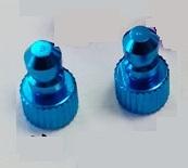 ◆カラーチューブエンド (3φ用) d4*D7 カラー / ブルー 1個