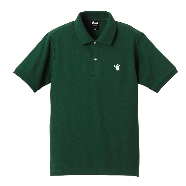 King Logo Polo-Shirt / Green - 画像5
