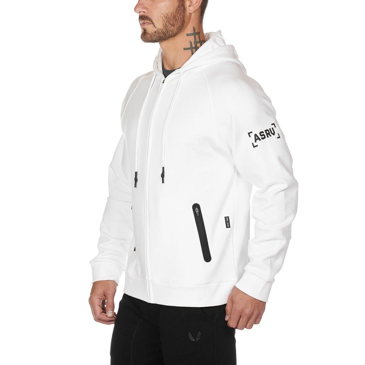 【ASRV】CottonPlus™ジップフーディー - White