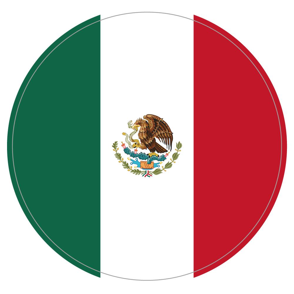"121 MEXICO ""California Market Center"" アメリカンステッカー スーツケース シール"