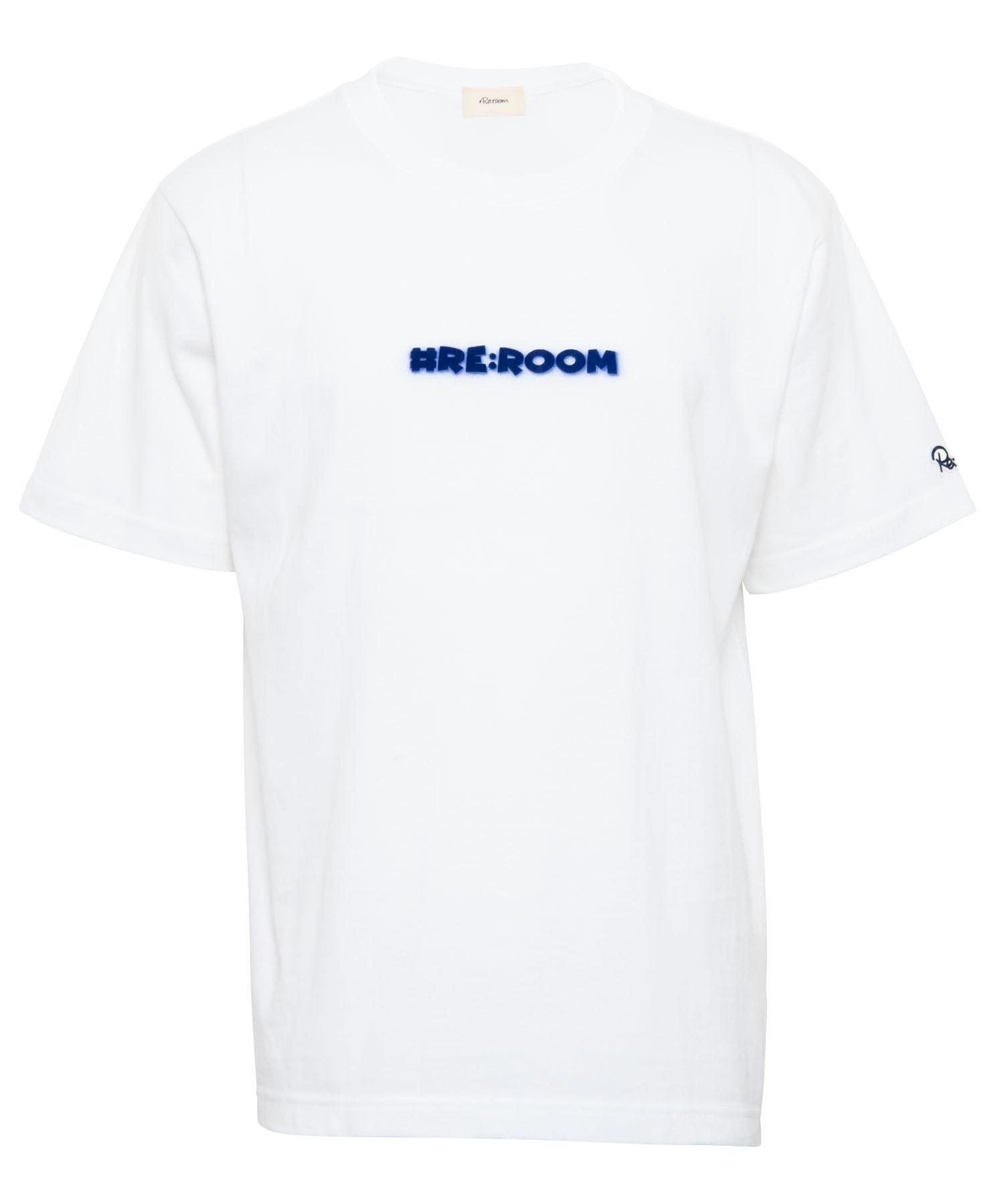 VINTAGE FLOCKY LOGO PRINT T-shirt - MICKEY MOUSE[REC408]